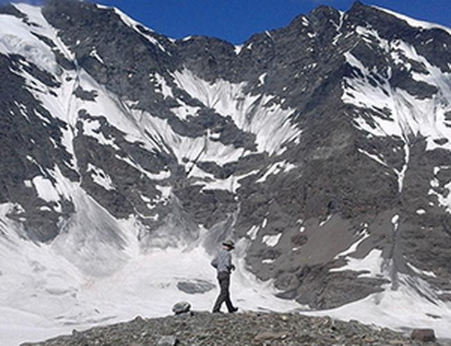 Ascension de la Grande Sassière 3747 m.