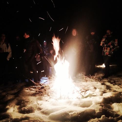 Randonnée raquettes aux Flambeaux